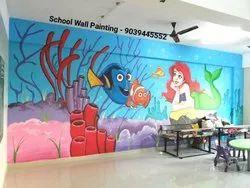Nursery School Wall-Painting Images