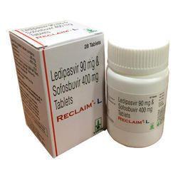 Ledipasvir 90 mg & Sofosbuvir 400 mg Tablets