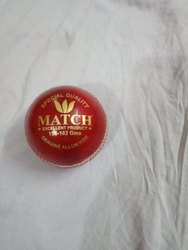 Leather Cricket Ball MATCH