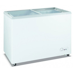 Sliding Lid Glass Top Freezer
