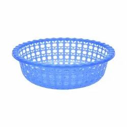 Red Plastic Apple Basket Medium, Size/Dimension: 9 Inch, Clean