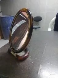 Wooden Framed Table Top Mirror