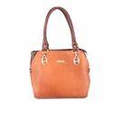 Women Leather Tan Retro Bag