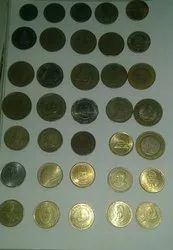 Silver And Golden OLD COIN