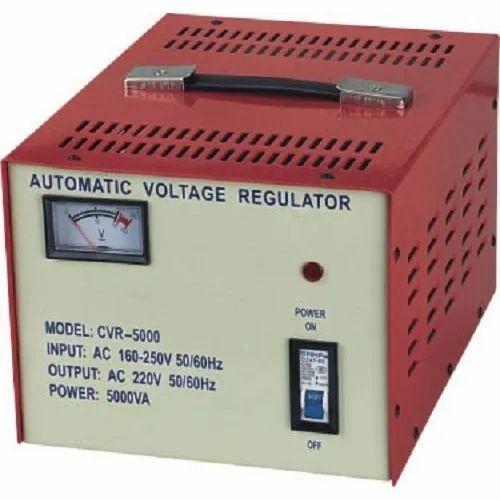 5000 Va Single Phase Automatic Voltage Stabilizer  Output