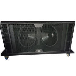 Imported Dual 18 RCF Style Cabinet