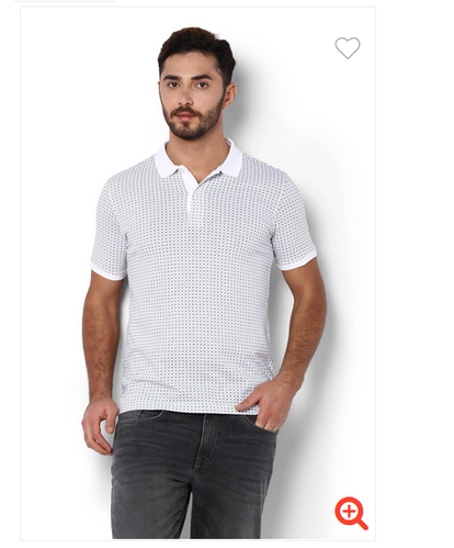 63776c0ac White Cotton Van Heusen T Shirt, Size: XXL And L And M, Rs 1399 ...