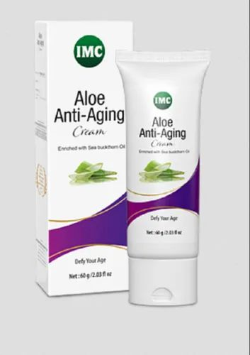 Unisex Ayurvedic Imc Aloe Anti Aging Cream ( 60 gm), Packaging Type: Tube