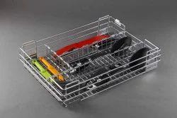 19X20X4 Inch Cutlery Wire Basket