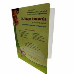 PP,Premium Board Printed Medical File Cover