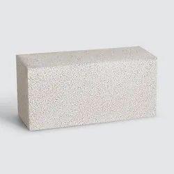 Cuboid Godrej Tuff 8 inch Solid Recycled Concrete Block