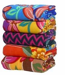 Soft Printed Fleece Blankets