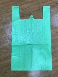 Polypropylene White D Cut Bag, For Shopping, Capacity: 5 Kg