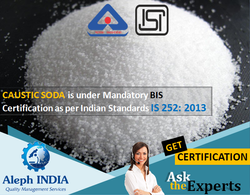 ISI Mark Certification for Caustic Soda
