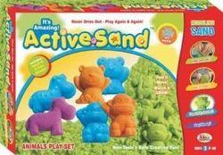 Ekta Active Sand Animals Play Set