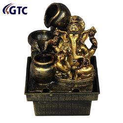 Lord Ganesha Water Fountain Shree Ganesha Decorative - (ITN-1732)