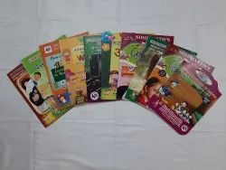 5 To 7 Year Sr.K.G. Books With Your School Name & Logo
