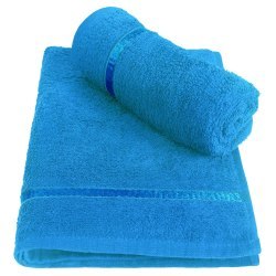Cotton White Hand Towels, For Home, Size: 40 Cm X 60 Cm