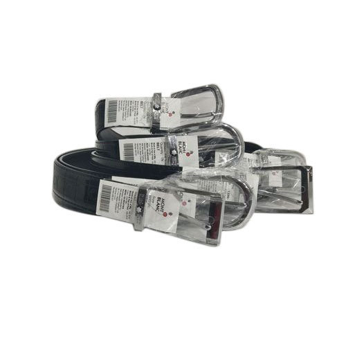 116a74b2b240e Mont Black Leather Belt