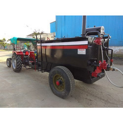Bitumen Emulsion Sprayer With Compressor, Capacity: 2500 Litre / 3000 Litre