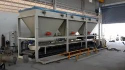 Three Bin Batching Plant only for Fly ash & Concrete Bricks Machine