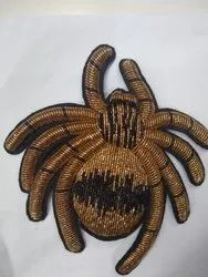 GOLDEN ZARDOZI EMBROIDERY PATCHES