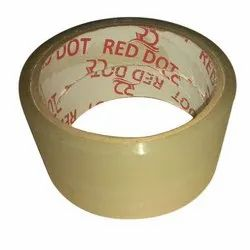 Red Dot Single Sided Transparent Cello Tape