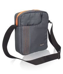 Dark Grey Sling Bag for Men