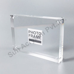 Acrylic Sheet Photo Frame