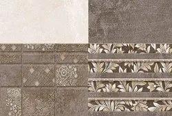 SakarMarbo Multicolor Ceramic Digital Wall Tile 407hl_it_dk - 450X300 for Hotel