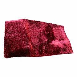 For Home Red Shag Floor Carpet