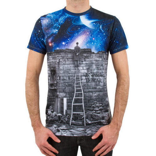 Cotton Sublimation Printed T-Shirts d2af0842bfed