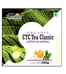 Sunrise Organic Black Tea, Pack Size: 200 Gm