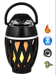 Flame Atmosphere Bluetooth Speaker by CiELO