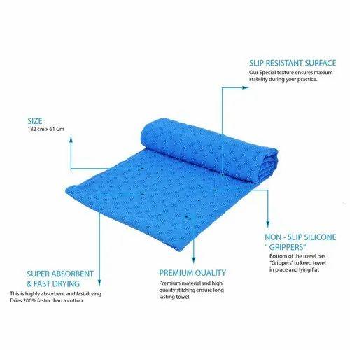 Magnificent Strauss Anti Slip Yoga Towel Cjindustries Chair Design For Home Cjindustriesco