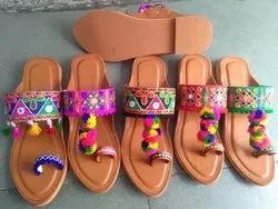 Colorful Ethnic Kolapuri Chappal
