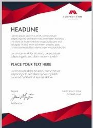 Paper Letterhead Digital Printing Services, in Bangalore