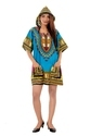 Cotton Floral Dashiki Hoodie Top