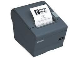 Black And White Rugtek RP327 Receipt Thermal Printer, Rp 327, Rs