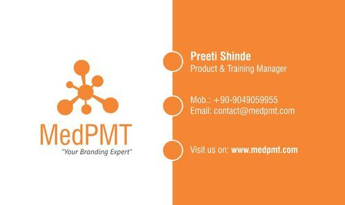 Visiting Card Designing And Printing In Wakad, Pune, Medpmt
