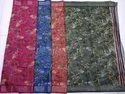 Ladies Chanderi Plain Silk Saree