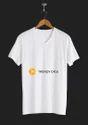 Multicolor Casual Men White T Shirt
