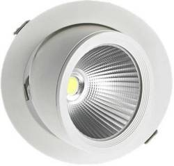 Aluminum 30W COB Zoom Spot Light