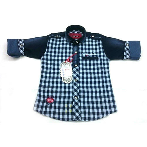Boys Partywear Check Baba Suit