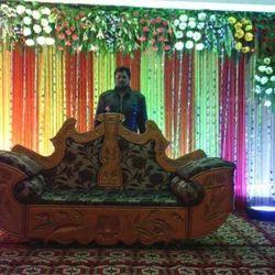 Flower Decoration Wedding Stage