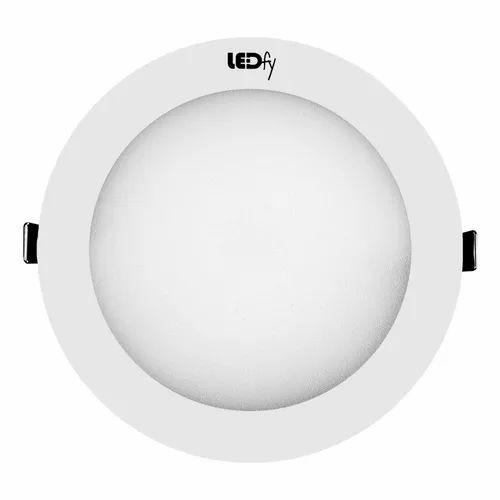 LEDFY Cool daylight Round Down Light 3W, Ac220v, 50/60hz, LFCRA1903003