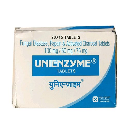 Torrent Pharma Unienzyme Tablet, 15 Tablets, Packaging Type: Strip, Rs 39  /strip   ID: 20726701673