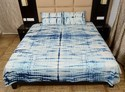 Shibori Tie Dye Bedspread With 2 Pillow Covers
