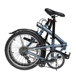 Btwin Tilt 120 Grey Folding Bicycle