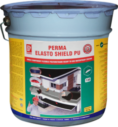 Perma Chemicals and perma BLACK Polyurethane Waterproofing, 20 KG